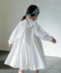 2 way ribbon dress(white)
