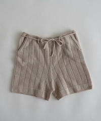 Knitted shorts(pink)