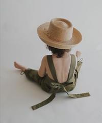 Sleeveless jumpsuit(olive green)