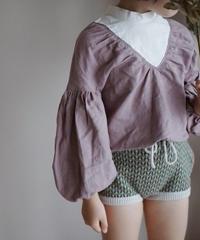False two-piece shirt(lanvender)