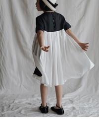 two-tone dress(black)