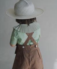 Suspender shorts(brown)