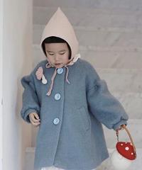Elf bonnet  baby pink