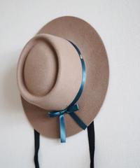 Wool hat brown