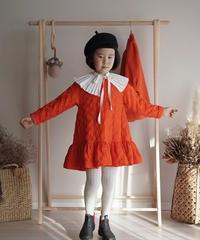 Padded dress(Orange)