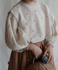 Cashmere vest(beige)