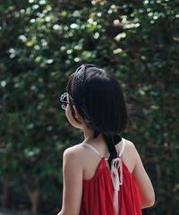Raffia straw handmade woven hairband(black)