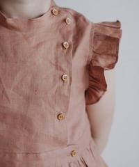 Collar shirt(Brown)