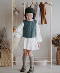 Quilt vest(Green)