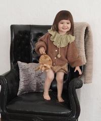 Cardigan Sweater(Brown)