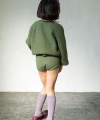 Cashmere  shorts(green)