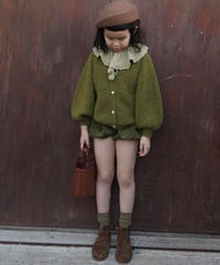 Pumpkin corduroy shorts (Green)