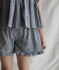 Plaid shorts (black)