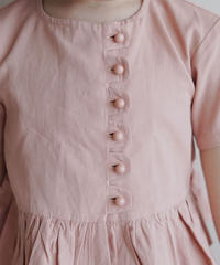 Frill trim blouse (Pink)