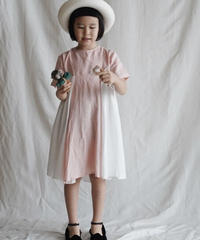 two-tone dress (pink)