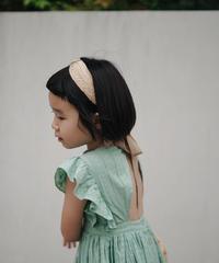 Raffia straw handmade woven hairband