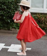 Halter neck dress (Red)