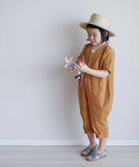 Cotton jumpsuit Camel