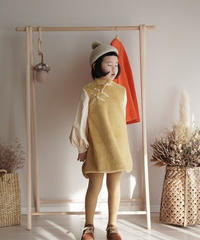 Lantern sleeve cheongsam(Yellow)