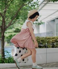 Ruffled dress(Pink)