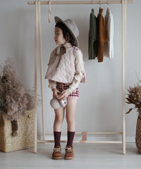 Quilt vest(Pink)
