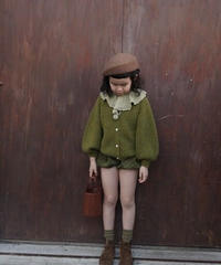 Cardigan Sweater(Olive)