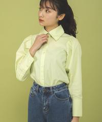 スプリングカラーシャツ【4月上旬発送予定】