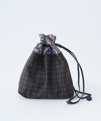 【数量限定再販】パッチワーク巾着バッグ