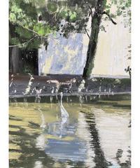 坂口恭平 作品「八景水谷公園の鷲」