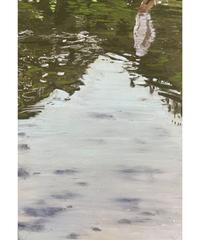 坂口恭平 作品「八景水谷公園の水面と人」
