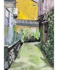 坂口恭平 作品「うきは市の水路」