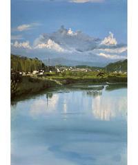 坂口恭平 作品「池上の水面」