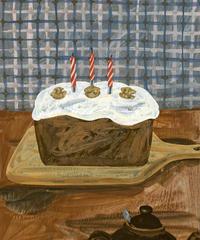 小池ふみ 作品 「CARROT CAKE」