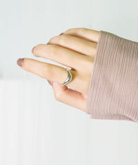 Plump V line ring 9号(Silver925)/ AVATE