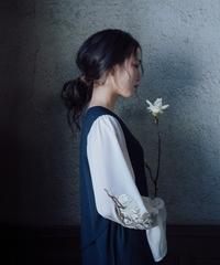 花を着るワンピース#02【ハクモクレン】