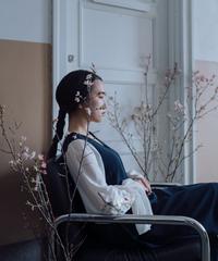 〈再販〉花を着るワンピース#02【桜】
