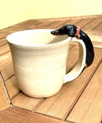 オリジナルマグカップ(タロウ赤首輪)