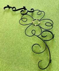 四つ葉のクローバーのアーチ飾り