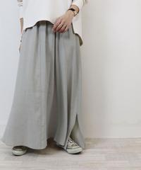 オリジナルサイドスリットフレアスカート S2030