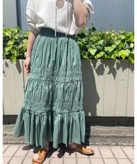 シャーリングマキシスカート|S3004