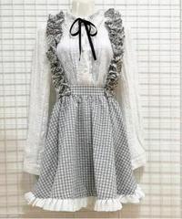 ギンガムジャンパースカート