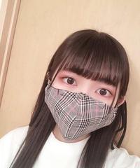 夏用マスク・クラシカルチェック