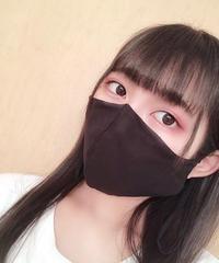 夏用マスク・オールブラック