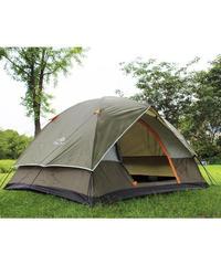 テント キャンプ バーベキュー BBQ ハイキング 屋外テント ビーチ 旅行 防風 防水 二重層 4人用 送料無料(MK00061)