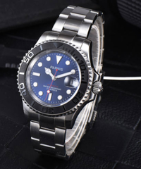 ロレックス サブマリーナー オマージュウォッチ PARNIS製 自動巻き メンズ腕時計 ビジネス腕時計
