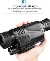 暗視カメラ ナイト スコープ 赤外線 ナイトビジョン 単眼 デジタル 望遠鏡 長距離 単眼 送料無料 (mk00070)