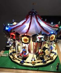 【送料無料】激レア!! LEGO レゴブロック互換 メリーゴーランド LED ライトキット用バッテリーボックス クリエイター 10196 製品