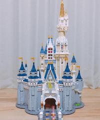 【LEGO(レゴ)】互換 71040 シンデレラ城 ディズニー ブロック おもちゃ