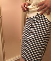 チェックミニスカート Vintage319