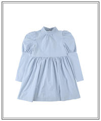 French girly OP - ice blue